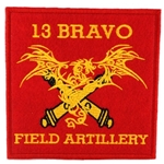 Patch, 13 Bravo, Field Artillery, Type 2