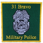 Patch, 31 Bravo, Military Police Branch (MP)