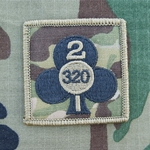 Helmet Patch, 2nd Battalion, 320th Field Artillery Regiment MultiCam®