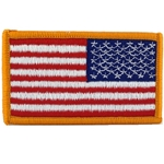 Patch, Reversed American Flag with Velcro®, Color