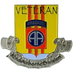 50th Anniversary Vietnam Veteran, Patch, 1st Armored Division, Color with Velcro®