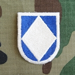 Beret Flash, HHC, 18th Airborne Corps Cut Edge