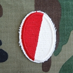 Beret Flash, 1st Squadron (Airborne) 17th Cavalry Regiment Type 3, Cut Edge