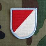 Beret Flash, Troop E (Airborne), 17th Cavalry Regiment