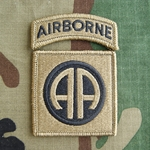 Patch, 82nd Airborne Division with Airborne Tab, MultiCam® with Velcro®