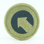 Patch, 1st Sustainment Command, MultiCam® with Velcro®