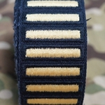 Army Female Blue Overseas Service Bars