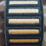 Army Male Green Overseas Service Bars
