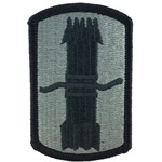 Patch, 197th Fires Brigade, ACU with Velcro®
