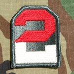 Patch, 2nd Army, Color