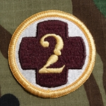 Patch, 2nd Medical Brigade, Color