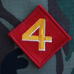 Patch, 4th Marine Division, Color