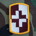 Patch, 4th Medical Brigade, Color