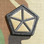 Patch, 5th Corps, MultiCam® with Velcro®