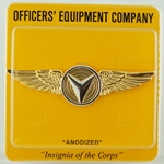 Badge, Unmanned Aircraft Enlisted Anodized, Regular Size
