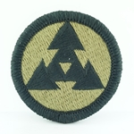 Patch, 3rd Sustainment Command, MultiCam® with Velcro®