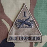 Patch, 1st Armored Division, Subdued