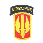 Patch, 18th Fires Brigade, with Airborne Tab, Color