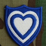Patch, 24th Corps, Color