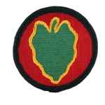 Patch, 24th Infantry Division, Color