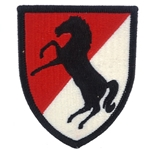 Patch, 11th Armored Cavalry Regiment, Color