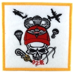 Patch, 92 R, PARACHUTE RIGGER