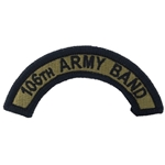 Patch, 106th Army Band ARANG Tab, A-1-1128, OCP with Velcro®