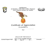 "2nd Battalion, 320th Field Artillery Regiment, ""Balls of the Eagle"""