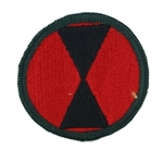 Patch, 7th Infantry Division, Color