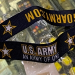 Lanyard, Go Army, 25 Each