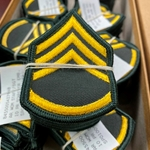 Rank, E6 Staff Sergeant (SSG), Dress Green, Male