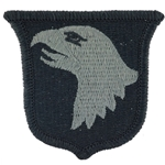 Patch, 101st Airborne Division Without Tab, Foliage Green ACU without Velcro®
