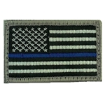 Patch, Reversed American Flag ACU with Velcro®, Type 1