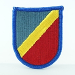 Beret Flash, STB, 4th BCT, 82nd Airborne Division, Merrowed Edge
