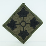 Patch, 4th Infantry Division, Color