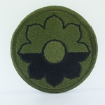 Patch, 9th Infantry Division, Color
