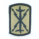 Patch, 103rd Field Artillery Brigade, MultiCam® with Velcro®