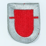 Beret Flash, LRSD, 2nd Infantry Division, Merrowed Edge