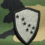 Patch, Army National Guard, Arkansas, MultiCam® with Velcro®