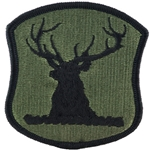 Patch, Indiana Army National Guard, MultiCam® with Velcro®
