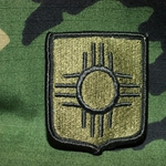 Patch, New Mexico Army National Guard, MultiCam® with Velcro®