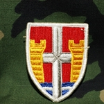 Patch, Puerto Rico Army National Guard, MultiCam® with Velcro®