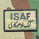 ISAF, MultiCam® Patch with Velcro®, Type 1