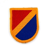 Beret Flash, 5th Quartermaster Detachment (Airborne)