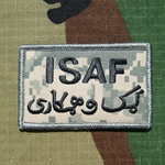 ISAF, ACU Patch with Velcro®, Type 2 Dari