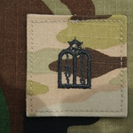 Branch Insignia, Jewish MultiCam® with Velcro®