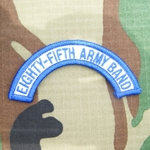 Patch, 85th Army Band Tab Color