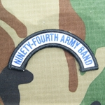 Patch, 94th Army Band Tab Color