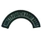 Patch, 94th Army Band Tab ACU with Velcro®