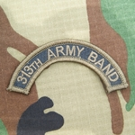 Patch, 313th Army Band Tab Color